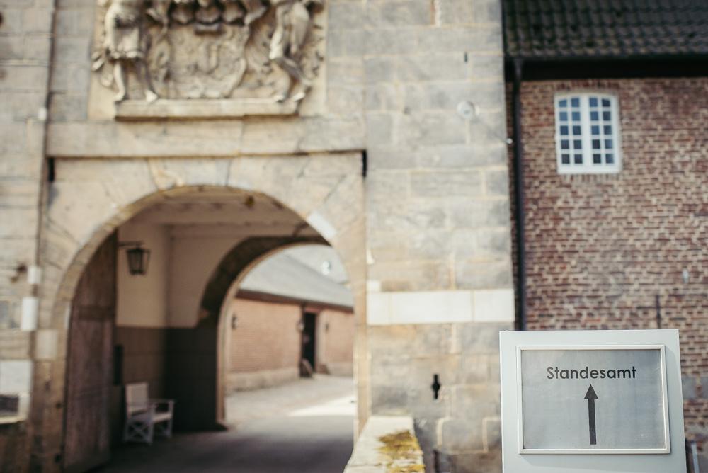Heiraten auf Schloss Dyck