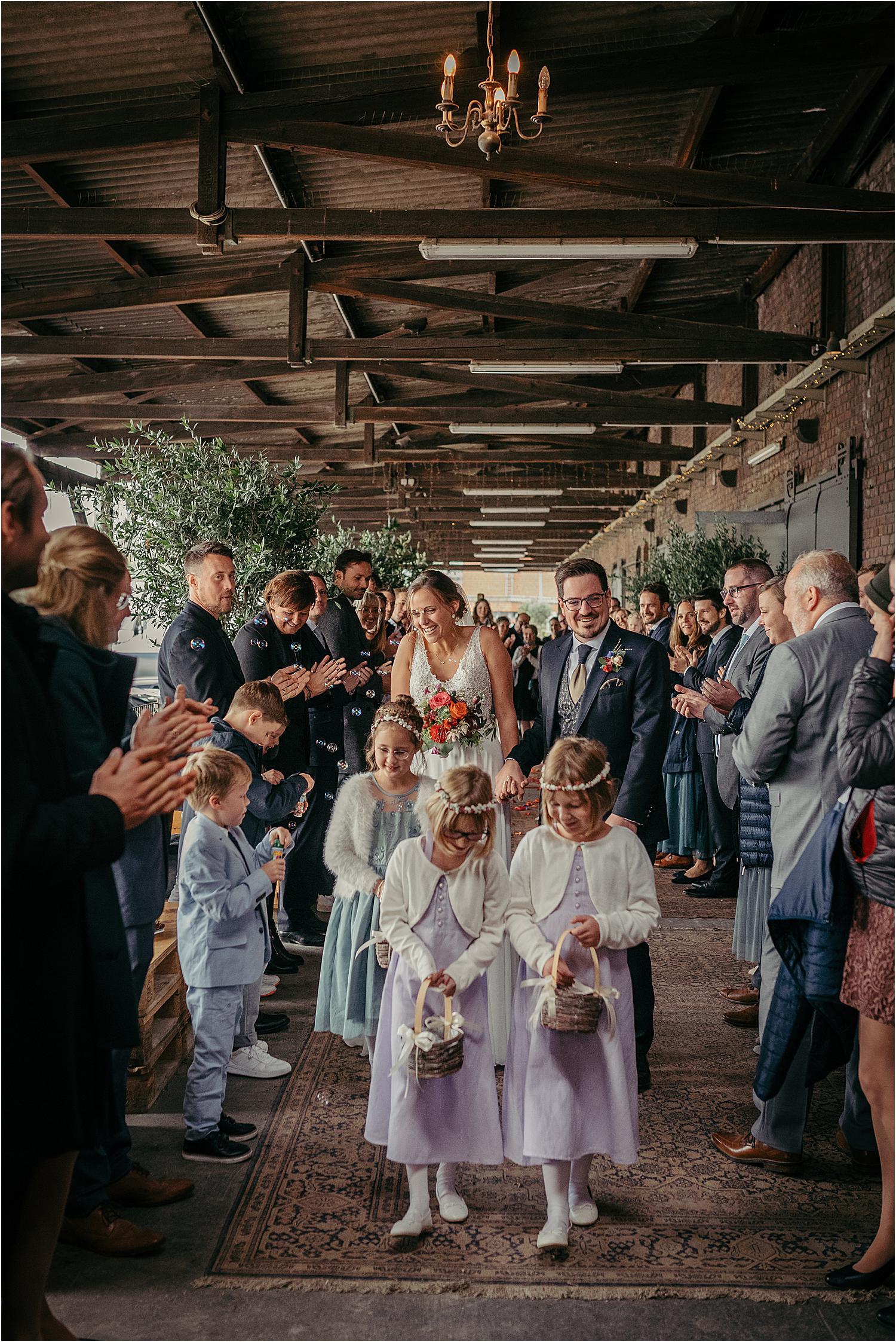 Hochzeitsfeier im Gare du Neuss
